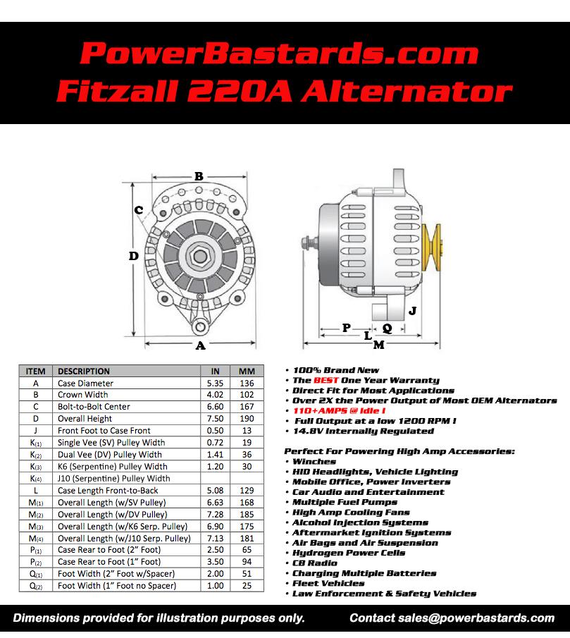 Technical Info & Alternator Installation Instructions ... on bosch alternator wiring, 1966 mustang alternator wiring, cummins alternator wiring, prestolite alternator wiring, gm alternator wiring, mopar alternator wiring, lucas alternator wiring,
