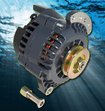 High Output Marine Alternator