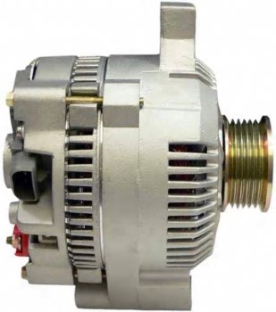 220A High Output Alternator for Ford Falcon, 1963 - 1965 3 3L (200c i ) L6  Upgrade for Standard w/Generator