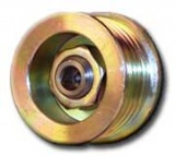 Overdrive 6 Groove Serpentine Pulley